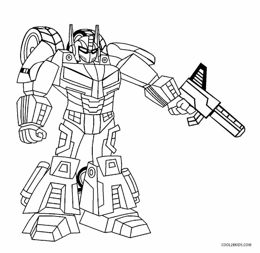 850x826 Free Printable Robot Coloring Pages For Kids