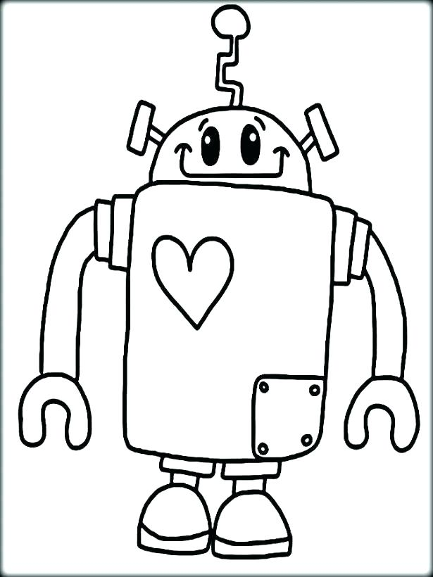 615x820 Free Printable Robot Coloring Pages For Kids Robot Coloring Pages