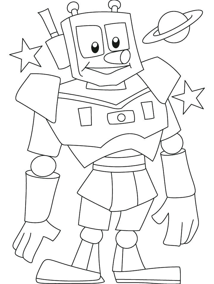 720x954 Robot Coloring Page Robot Printable Coloring Pages Free Printable
