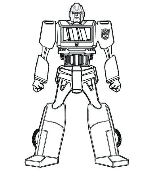 500x604 Robot Coloring Pages Cute Robot Coloring Page For Kids Robot