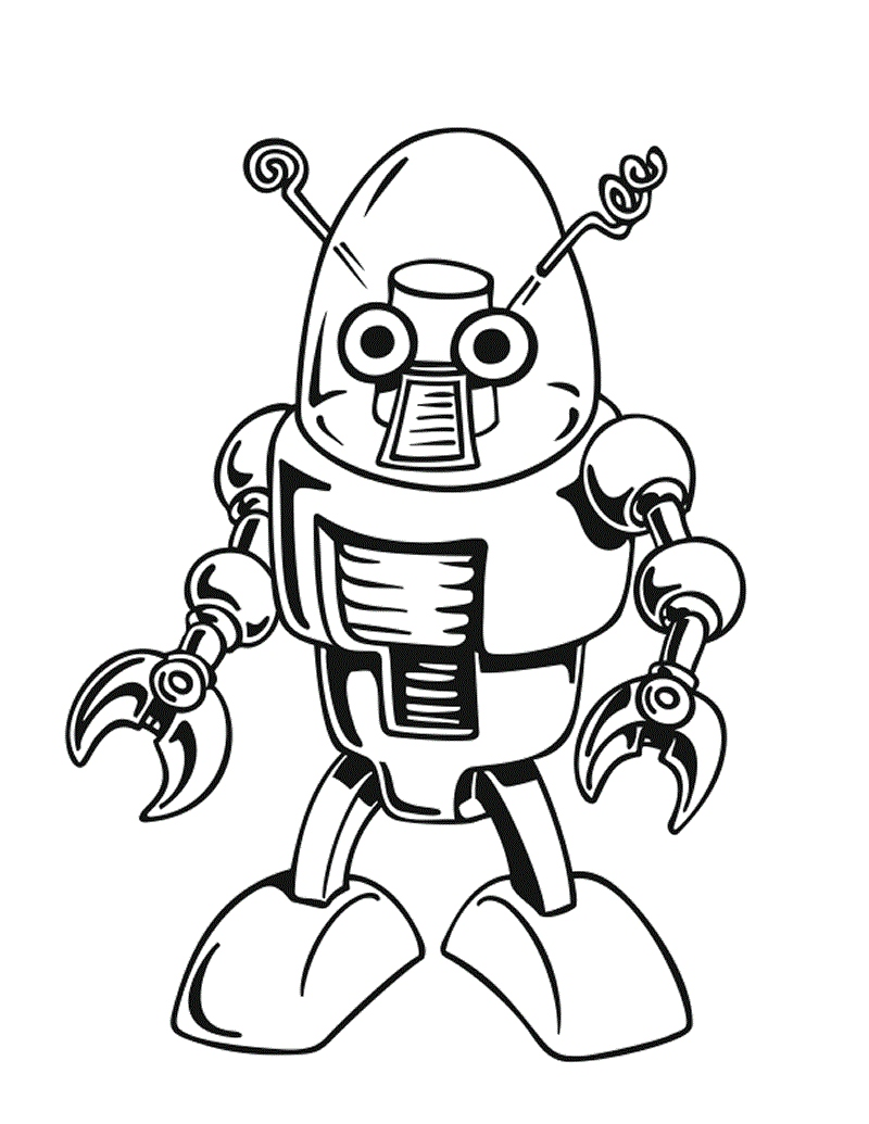 800x1035 Robot Coloring Pages Lovely Free Printable Robot Coloring Pages