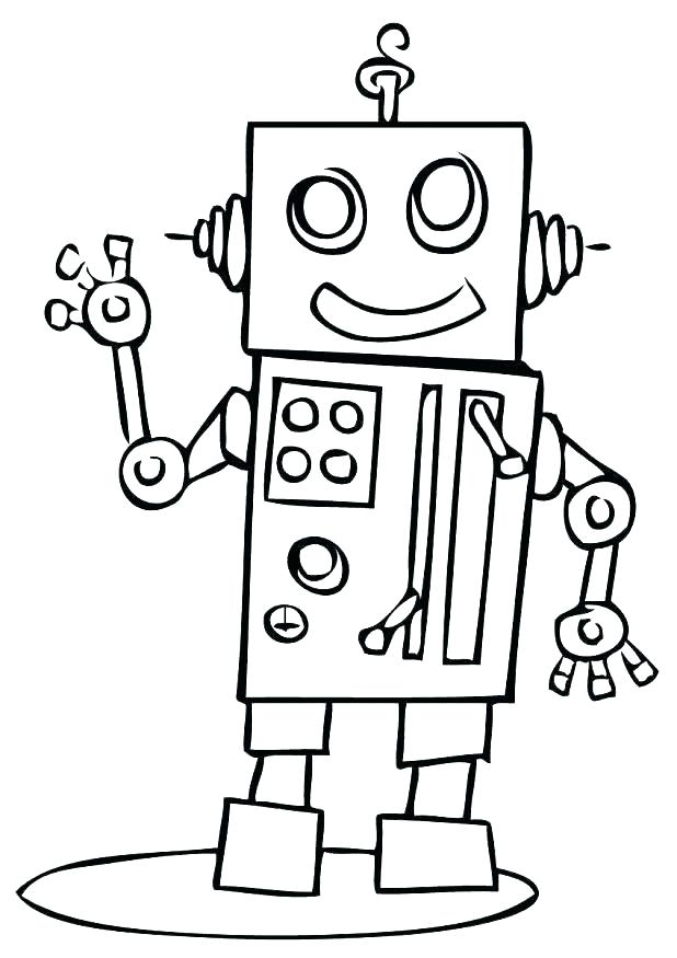 618x875 Robot Coloring Pages Robot Coloring Pages Pages Cool Robot