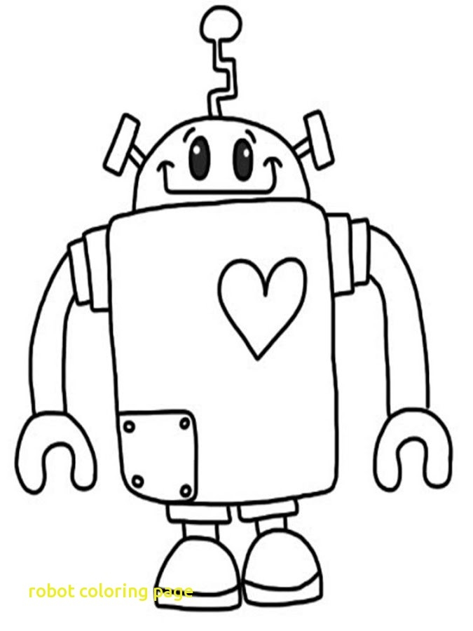 675x900 Robot Coloring Robot Coloring Page With Robot Coloring Page Free