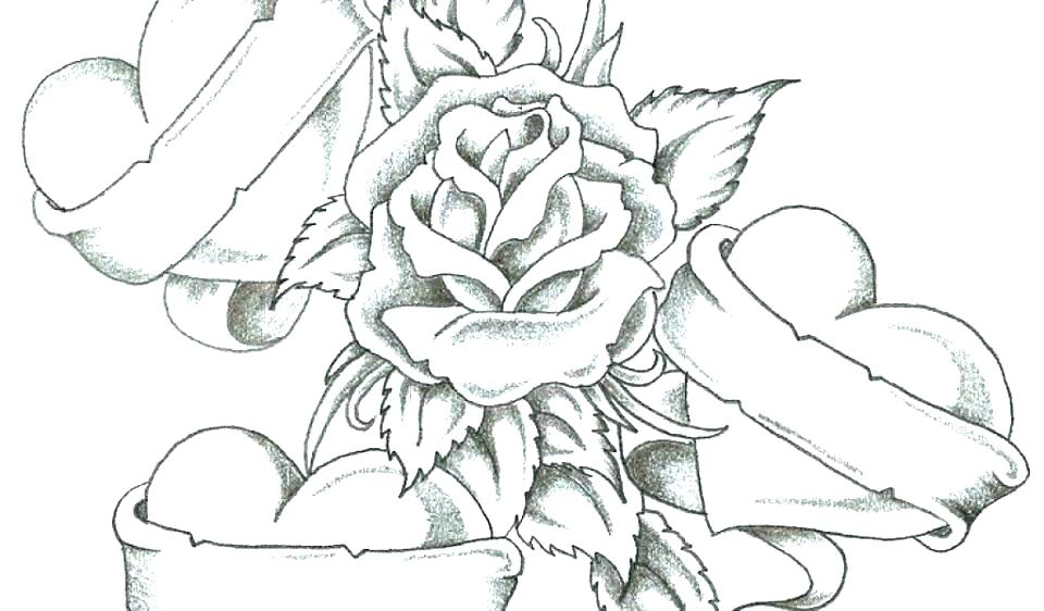 960x562 Roses Coloring Pages Printable Roses Coloring Pages Printable Rose