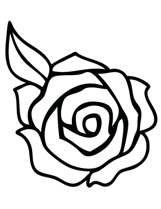 670x867 Extraordinary Heart And Roses Coloring Pages Medium Size