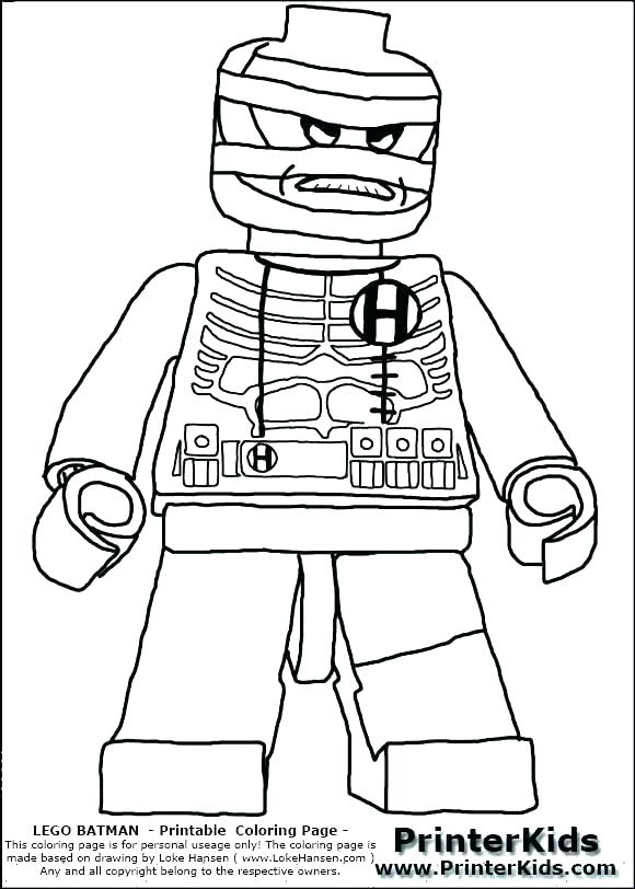 580x812 Scarecrow Coloring Pages Scarecrow Coloring Page Lego Scarecrow