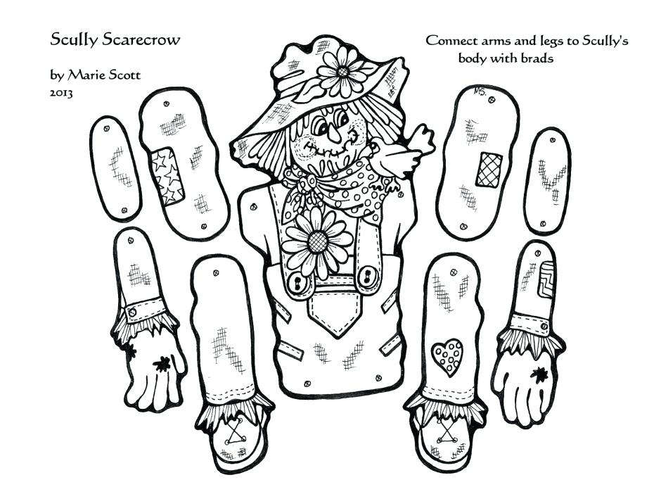 940x692 Scarecrow Coloring Pages Scarecrow Coloring Pages Top Rated