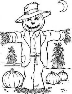 231x300 Cute Scarecrow Coloring Pages Site About Chilen