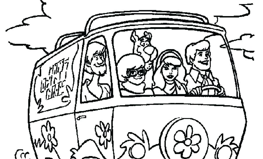 Free Printable Scooby Doo Coloring Pages at GetDrawings.com ...