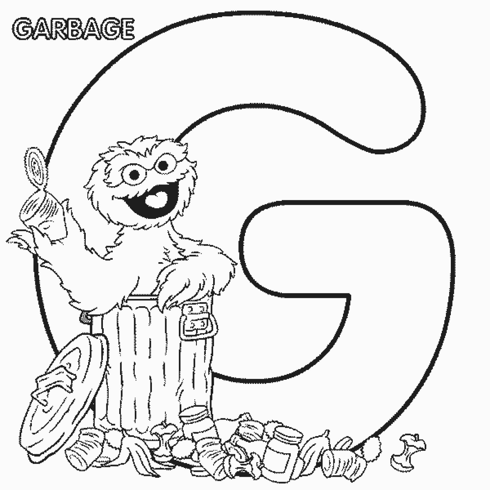 Free Printable Sesame Street Coloring Pages At Getdrawings Com