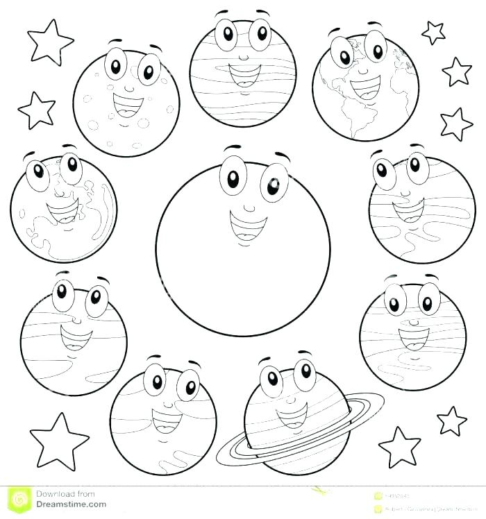 700x748 Coloring Pages Of The Solar System Delightful Solar System