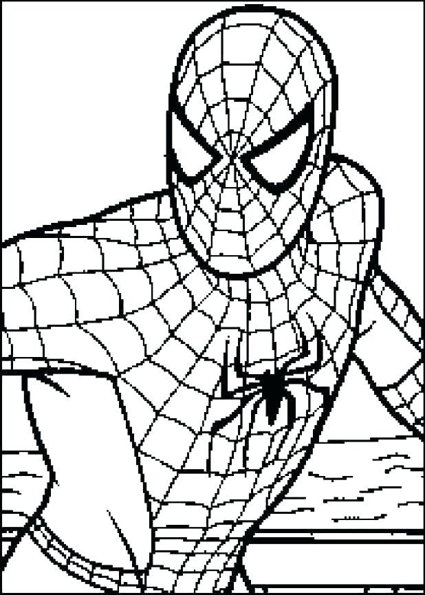 618x865 Free Printable Spiderman Coloring Pages Free Printable Spiderman