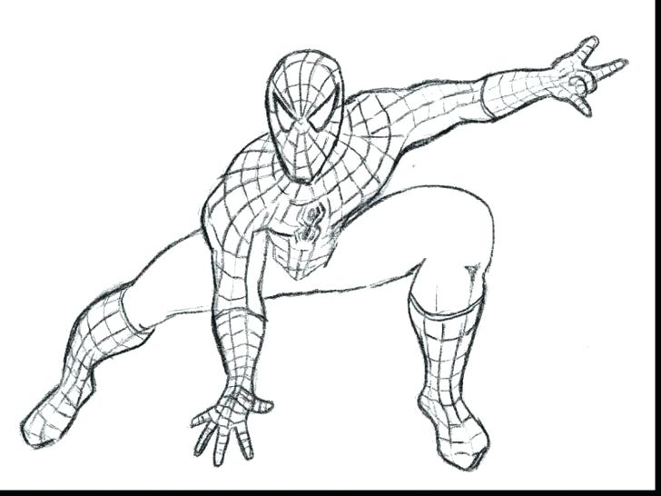 728x546 Free Printable Spiderman Coloring Pages Medium Size Of Free