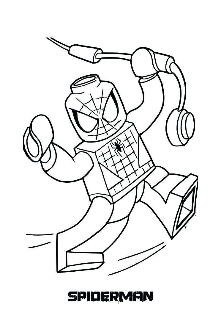 Free Printable Spiderman Coloring Pages At Getdrawings Com Free