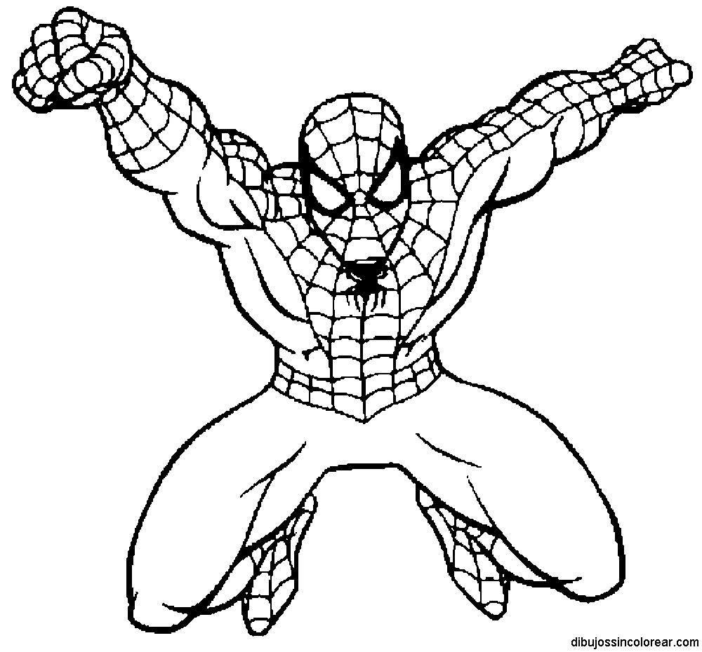 1000x930 Spider Man Coloring Pages Lovely Free Printable Spiderman Coloring