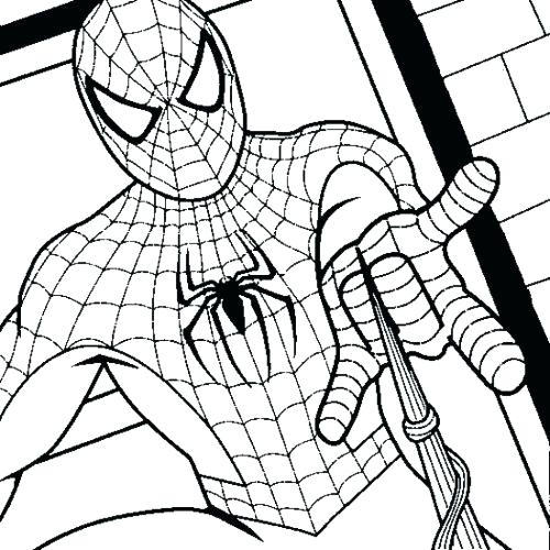 500x500 Free Printable Spiderman Coloring Pages Best Of Printable Coloring