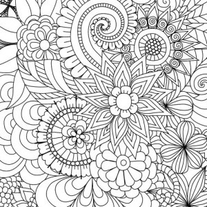 Free Printable Spring Coloring Pages For Adults at ...