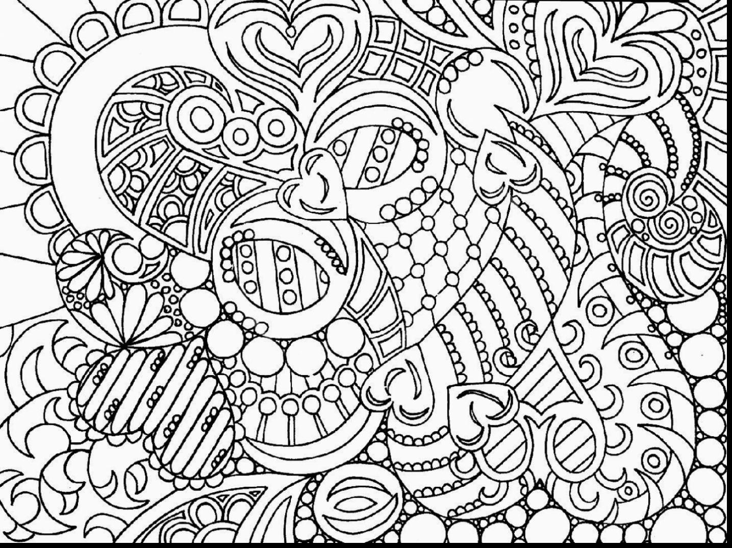 Free Printable Spring Coloring Pages For Adults At
