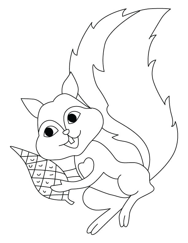 612x792 Squirrel Coloring Pages Flying Squirrel Coloring Pages Squirrel