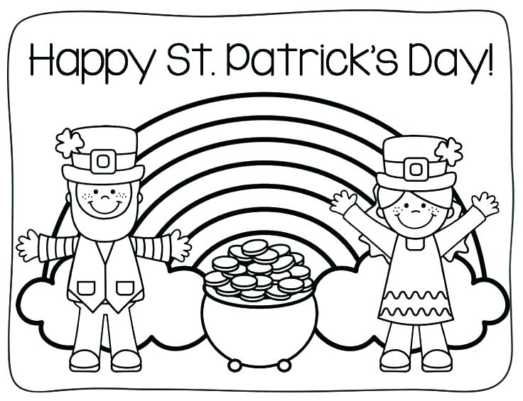 Free Printable St Patrick Day Coloring Pages At Getdrawings Free Download