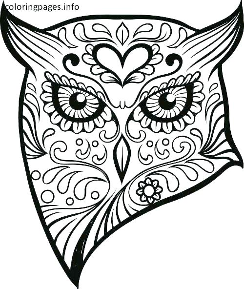 This is a photo of Free Printable Sugar Skull Coloring Pages throughout clipart