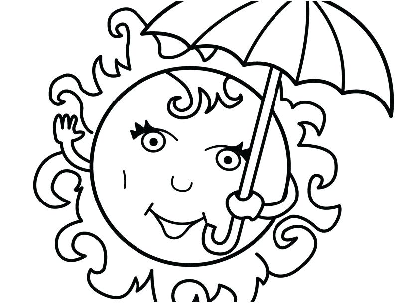 827x609 Free Printable Summer Coloring Pages Seconds Of Summer Colouring