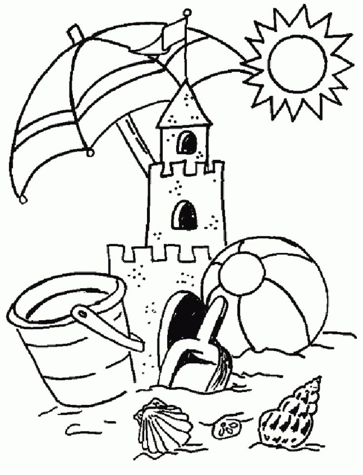 736x963 Summer Coloring Pages To Print Kids Summer Coloring Pages