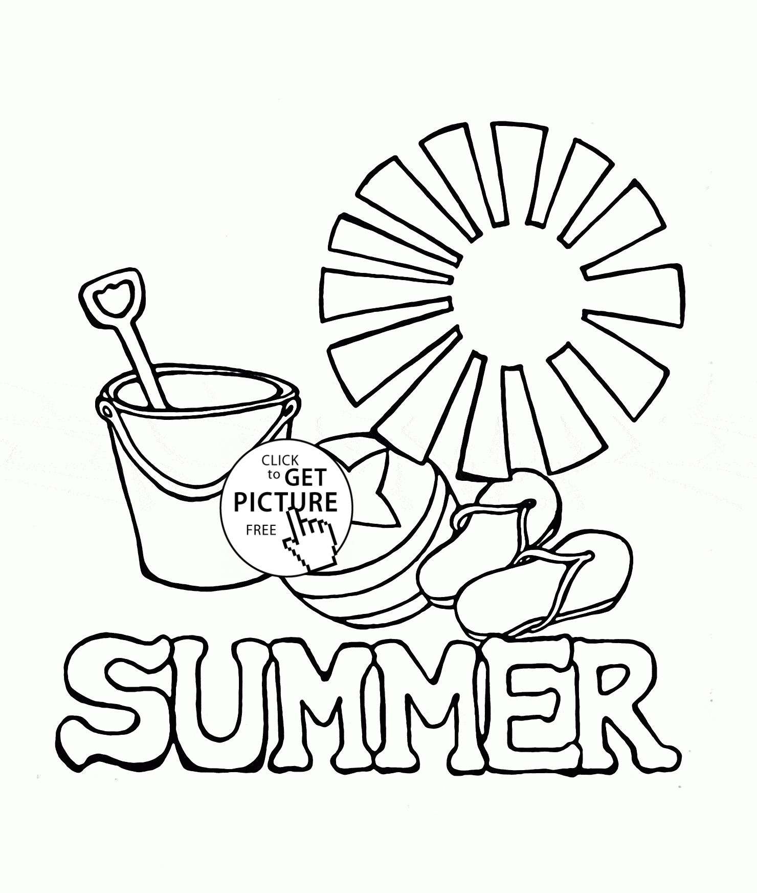 1480x1744 Free Printable Summer Coloring Pages Collections Free