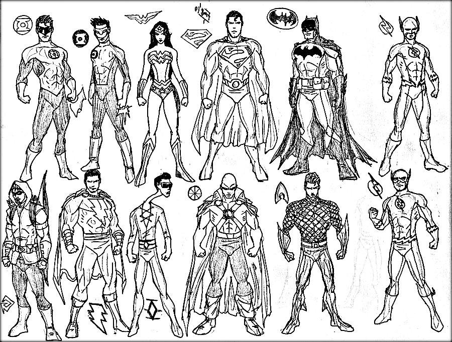 Free Printable Superhero Coloring Pages At Getdrawings Free Download