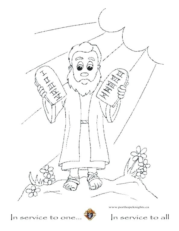 Free Printable Ten Commandments Coloring Pages At Getdrawings Com