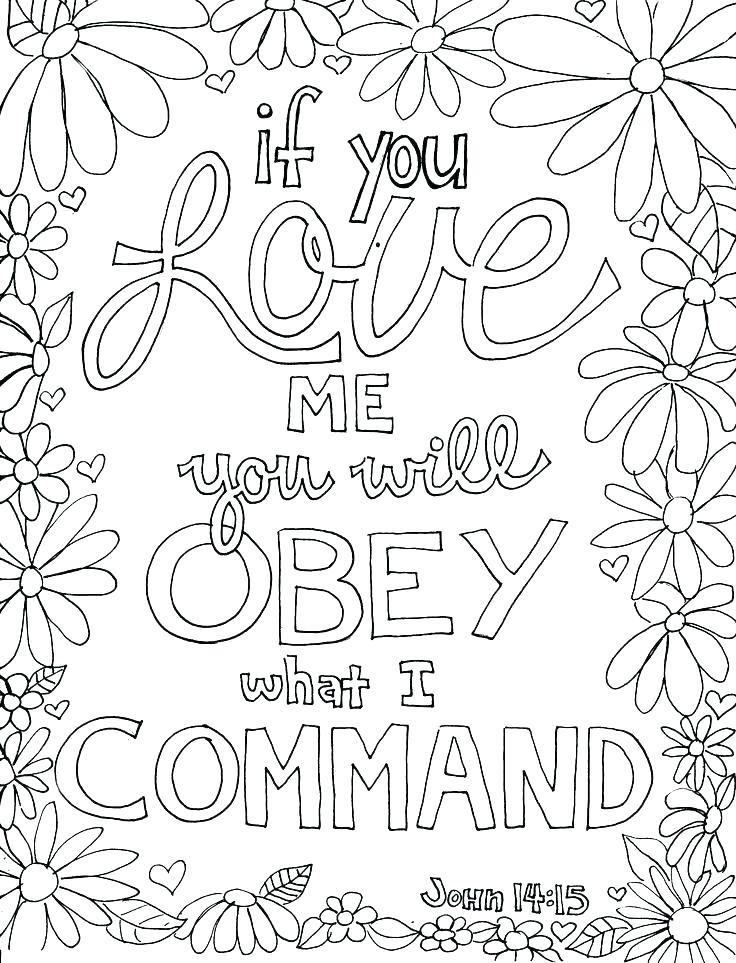 Free Printable Ten Commandments Coloring Pages at ...