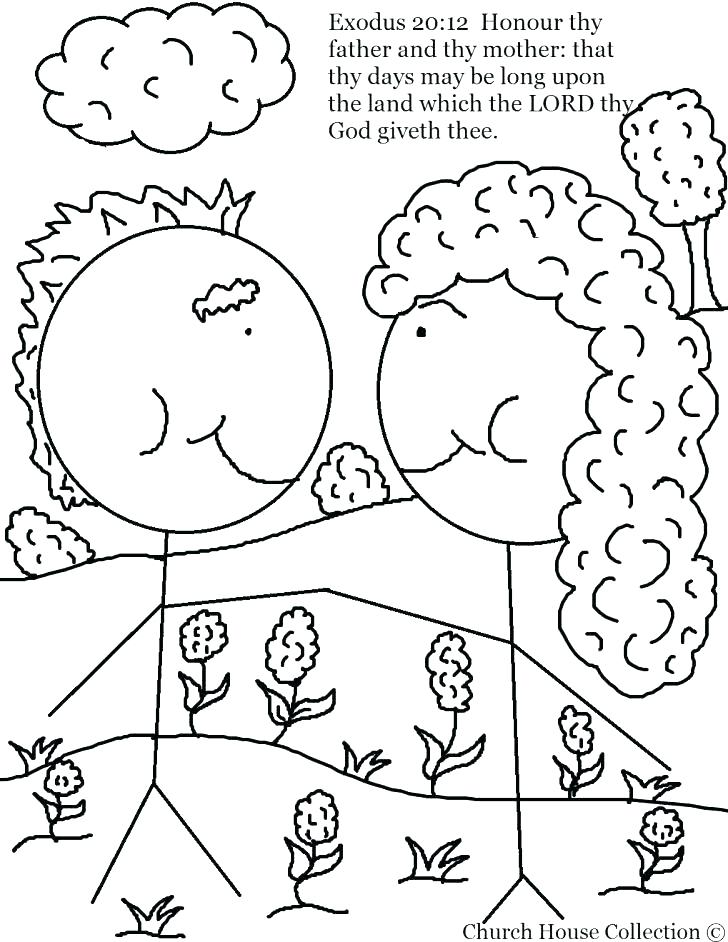 Free Printable Ten Commandments Coloring Pages at GetDrawings.com ...