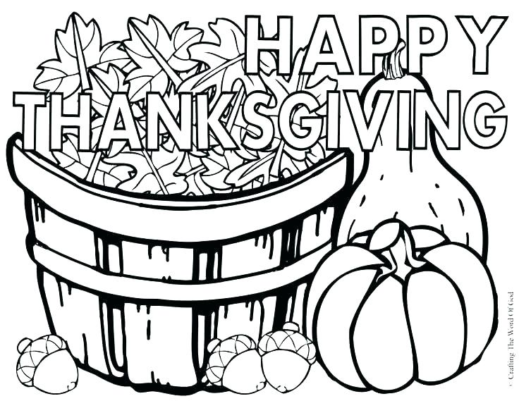 Free Printable Thanksgiving Coloring Pages For Adults at GetDrawings ...