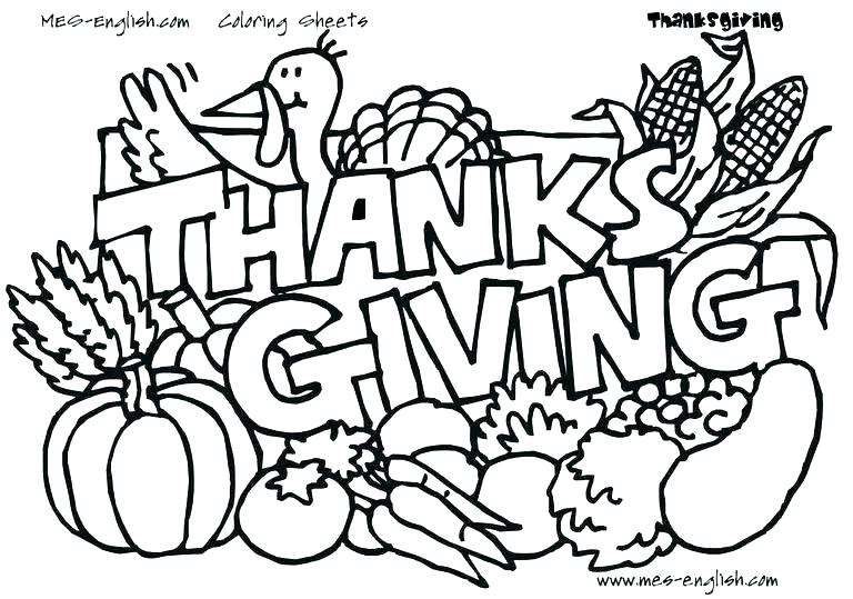 Free Printable Thanksgiving Coloring Pages For Kids At Getdrawings Free Download
