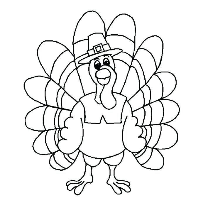 692x733 Free Printable Turkey Turkey Head Coloring Page Turkey Color Pages