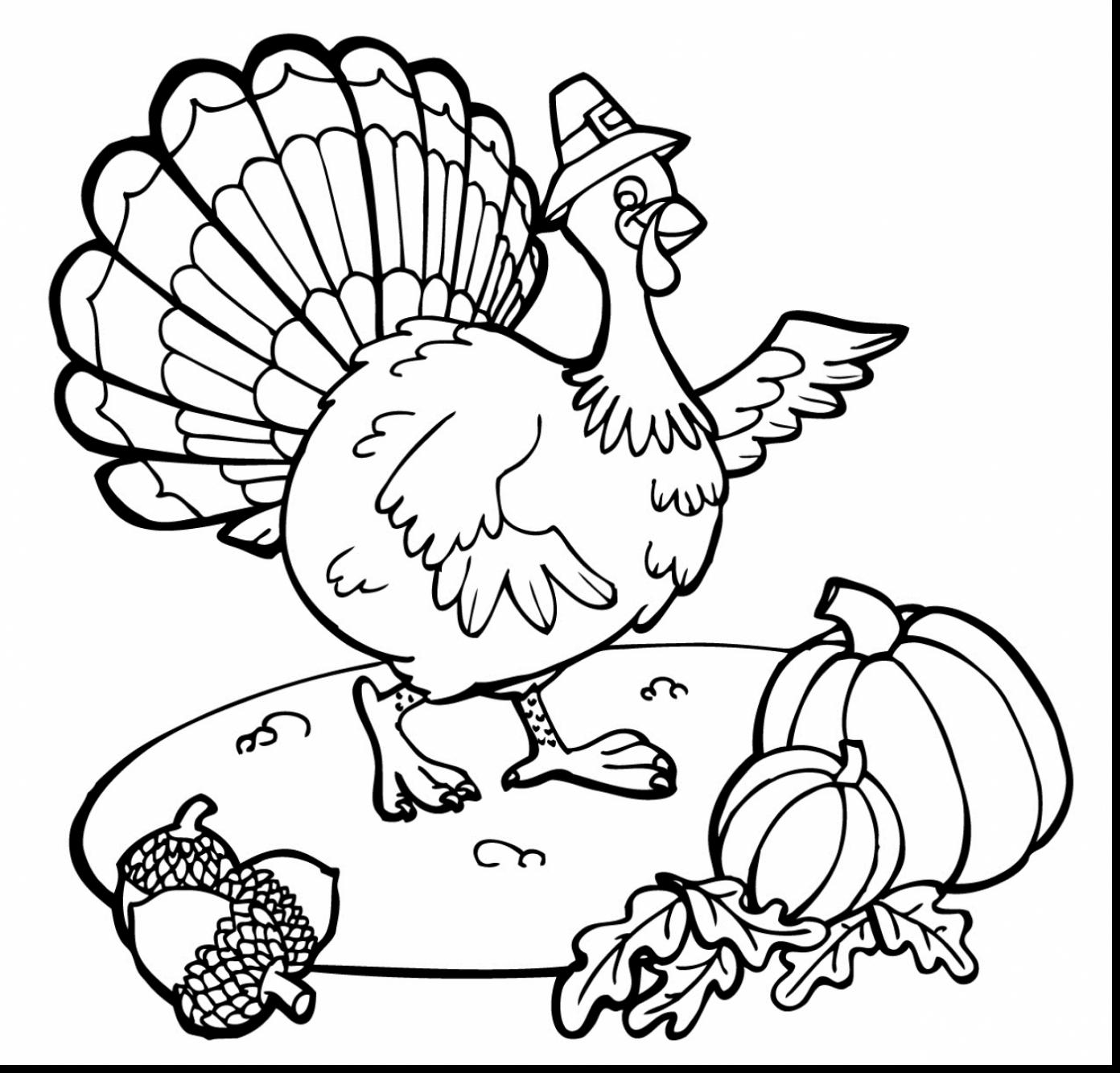 Free Printable Thanksgiving Turkey Coloring Pages