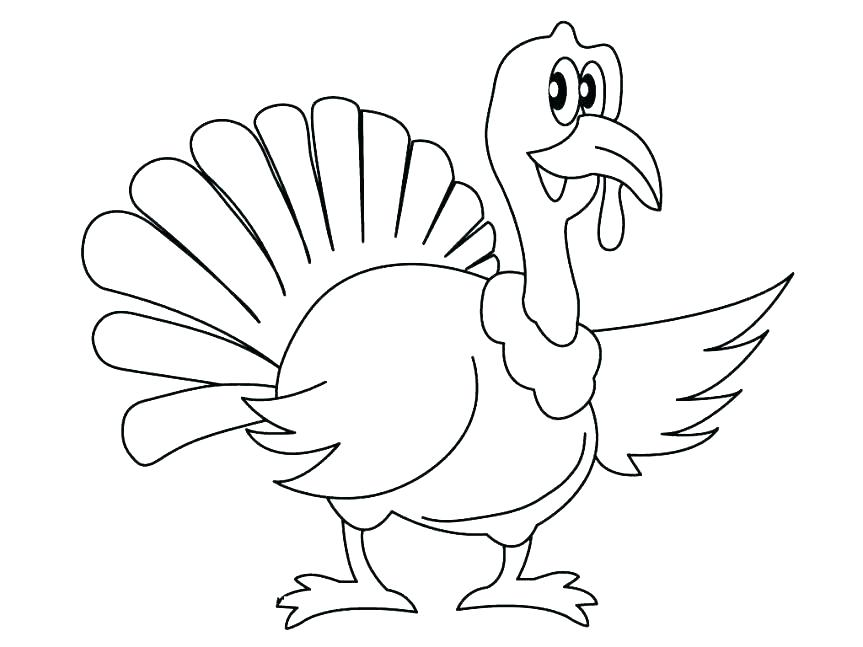 863x647 Thanksgiving Turkey Coloring Pages Printables Thanksgiving Turkey