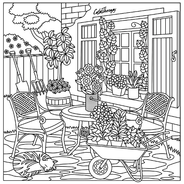 618x618 Garden Color Therapy App Is Fun And Relaxing! Try This App