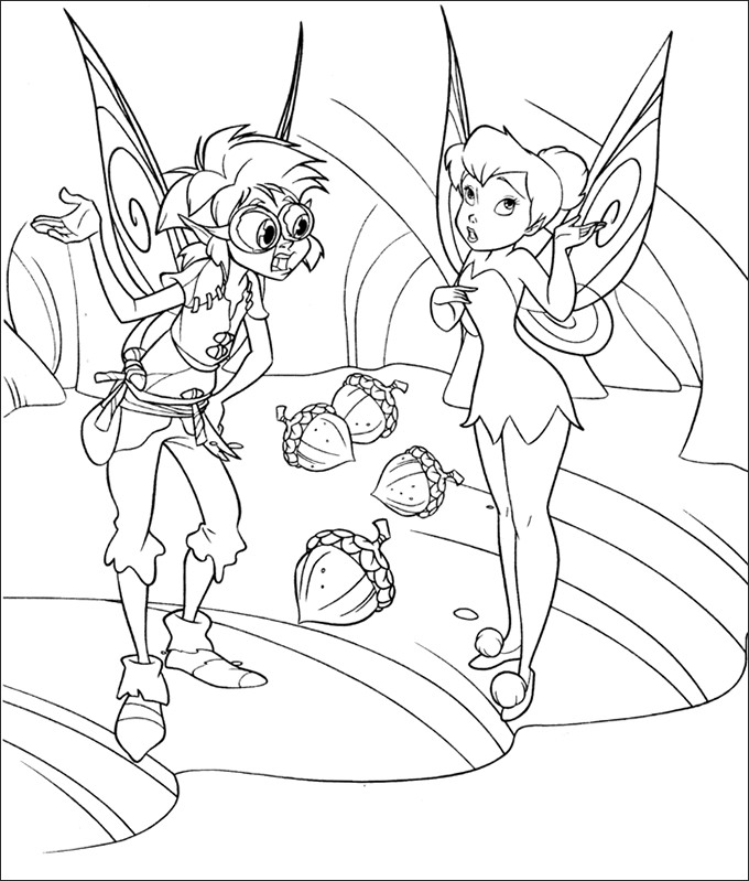 Free Printable Tinkerbell Coloring Pages At Getdrawings Com Free