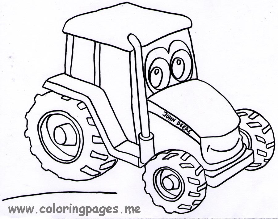 Free Printable Tractor Coloring Pages at GetDrawings.com   Free for ...