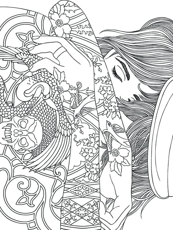 600x797 Free Printable Trippy Coloring Pages Inspiration Free Printable