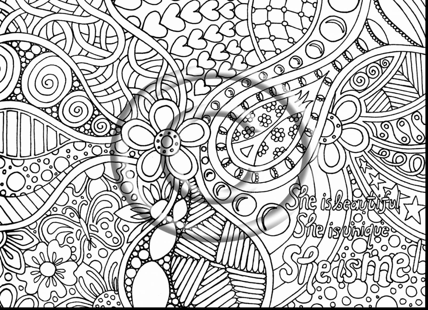 1650x1196 Free Printable Trippy Coloring Pages Page Gallery Of Adult