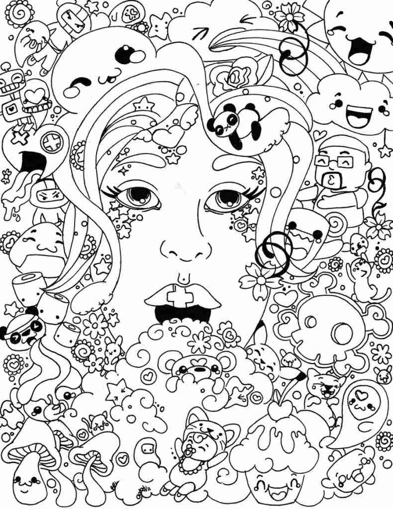 790x1024 Get This Trippy Coloring Pages For Adults Free Printable Adult