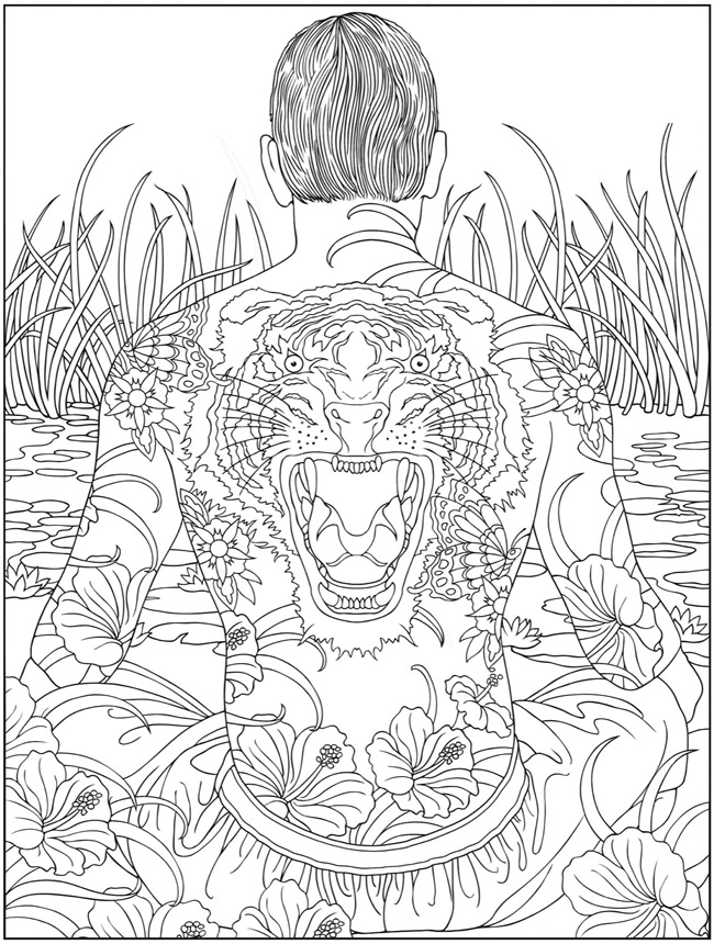 650x860 Printable Trippy Coloring Pages Many Interesting Cliparts