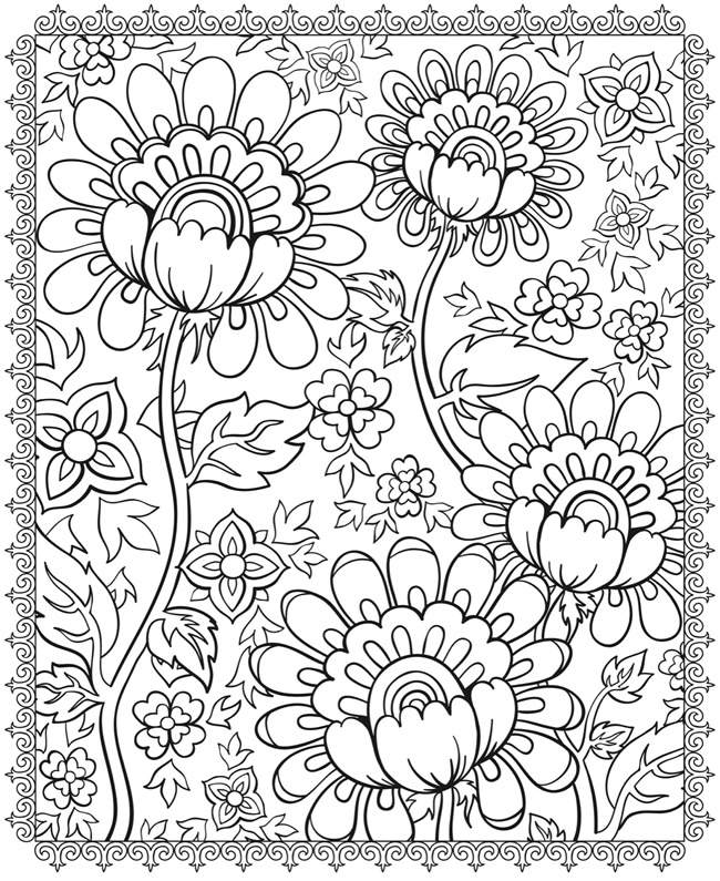 650x795 Psychedelic Coloring Pages To Download And Print For Free