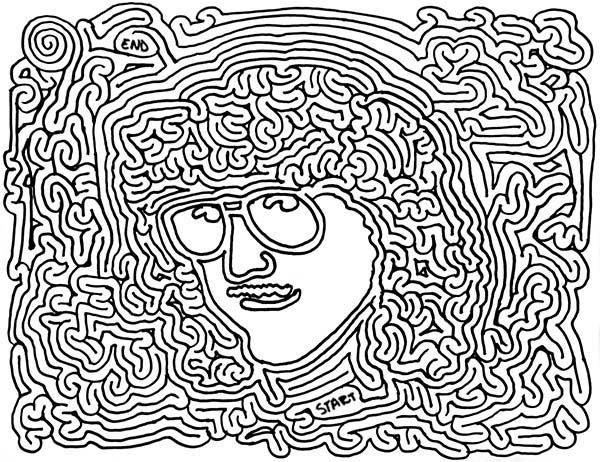 600x462 Trippy Coloring Pages