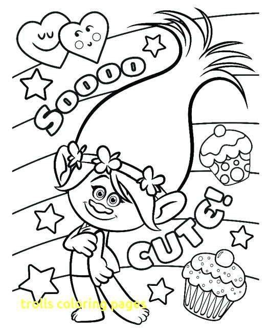 524x650 Trolls Coloring Pages Printable Trolls Coloring Pages Trolls