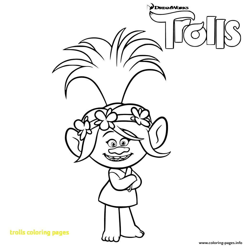 Free Printable Troll Coloring Pages At Getdrawings Free Download