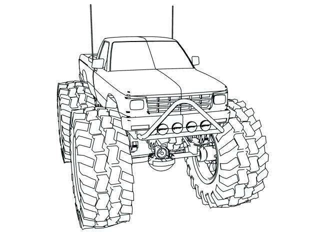618x464 Grave Digger Coloring Page Digger Coloring Page Grave Digger
