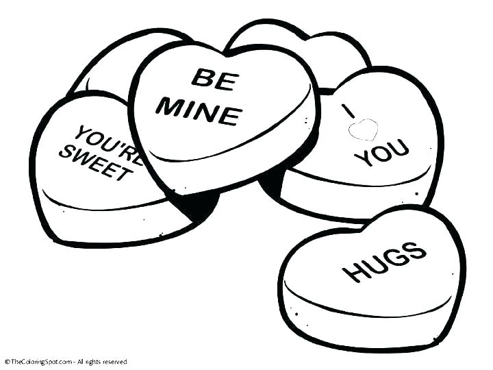 720x540 Free Printable Coloring Pages For Valentines Day Valentine